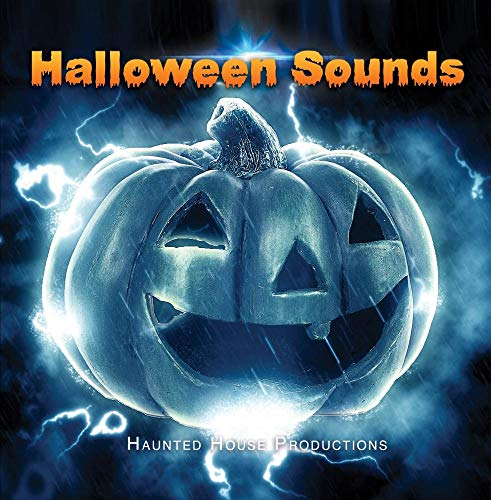Halloween Sounds - One Hour CD of Haunted House sounds for Halloween