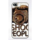 Générique Coque i Shoot People Compatible iphone 5 Transparent