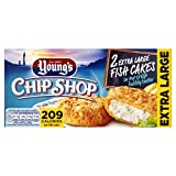 Young's Chip Shop Extra Large Fish Cakes x2, 210g (Frozen)