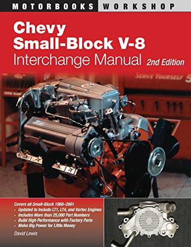 Chevy Small-Block V-8 Interchange Manual: 2nd Edition (Motorbooks Workshop)