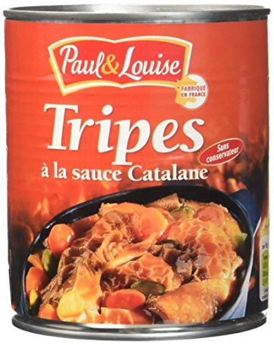 Paul & Louise Tripes à la Sauce Catalane 800 g - Lot de 3