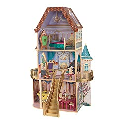 Kidkraft Beauty and the Beast Enchanted Dollhouse, Multi Color