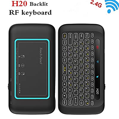 Air Mouse, 57B 2.4Ghz Fly Mouse Wireless Mini Keyboard with Mouse Game Handle Android Remote Control for Smart TV Android TV Box PC HTPC IPTV Media Player