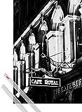 1art1 Poster + Hanger: Schottland Poster (91x61 cm) Cafe