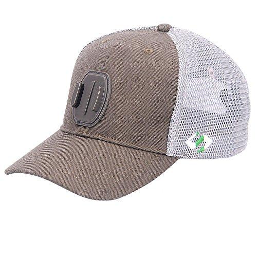 [edizione estiva]Smatree SmaHat H2 Alta Mesh Traspirante Cappello Di Baseball per Gopro Hero 5, 4, Session, 3, 2, 1 Grigio (L, 58-60cm)