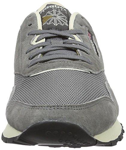 Reebok Classic Nylon P, Sneakers Basses Homme Gris (Shark/Paperwhite/Antique Copper/Black)