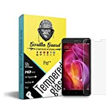 #6: Gorilla guard's Pro series tempered glass for Xiaomi Redmi Note 4 with HD+ ultra clear edge to edge 8H hardness, UV protect & anti-smudge technology TEMPERED glass phone protector (04-RedMi-Note4-pro)