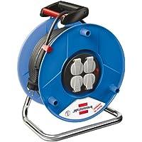 Brennenstuhl 1208060 Garant 50 - Carrete alargador de cable (50 m, H05VV-F 3G1,5)