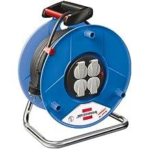 Brennenstuhl 1208060 Garant 50 - Carrete alargador de cable ( 50 m, H05VV-F 3G1,5)