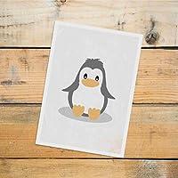 Postkarte Dreamchen Kinderzimmer Deko Pinguin
