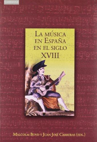 La música en España en el siglo XVIII