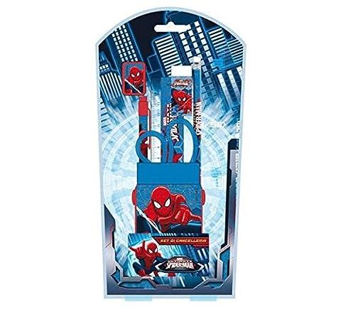Ultimate Spiderman–Papeterie, Set 7pièces