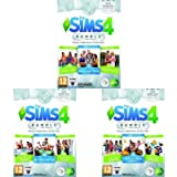 The Sims 4 Game & Stuff Pack 3: Mangiamo Fuori, Serata Cinema, Giardini Romantici + The Sims 4 Game & Stuff Pack 2: Un…
