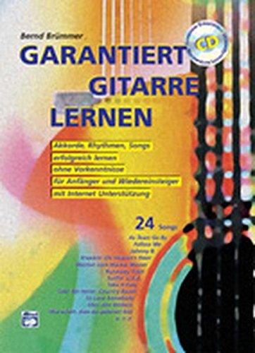 Garantiert Gitarre lernen  mit CD