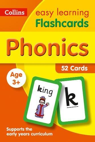 Phonics Flashcards (Collins Easy Learning Preschool) por Collins Easy Learning