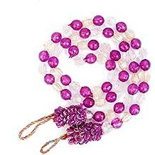 2pcs Decorativas Cuerdas para Cortina Abrazaderas (Morado)