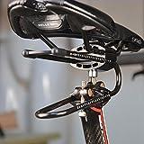 Stoßdämpfer Fahrradsattel Stoßdämpfer Fahrradsitz Breit Universal für Outdoor Stoßdämpfer Sattel Suspension Gerät Stoßdämpfer Klemmvorrichtung Bike Sitz Wasserdicht Komfort Atmungsaktiv für MTB Mount
