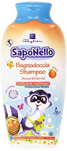 Paglieri - Saponello Bagnodoccia Shampoo, Addolcente - 400 ml