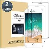 EasyULT [2 Stück] Schutzfolie Panzerglas für iPhone 8, iPhone 8 Displayschutz Panzerglas Kristallklare Gehärtete Screen Protector,Glas Schutzfolie für iPhone 8