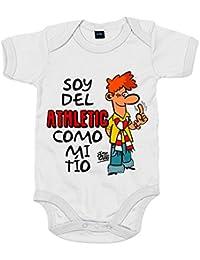Body bebé soy del Athletic de Bilbao como mi tío Jorge ...