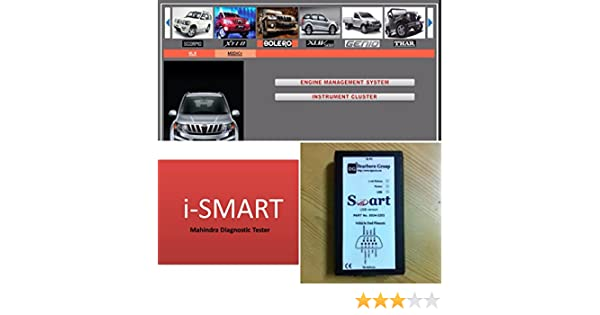 MAHINDRA Plastic iSmart Car Scanner with Laptop