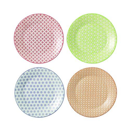 Royal Doulton 16cm Dessert-Teller, Set mit 4 Stück Porcelain Side Plate