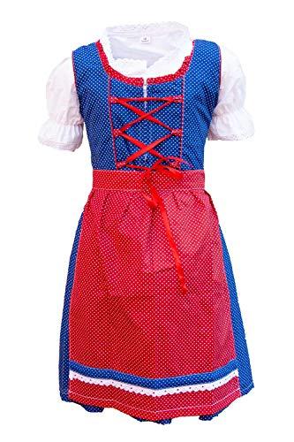 MS-Trachten Kinder Dirndl Trachtenkleid 3 teilig Josi