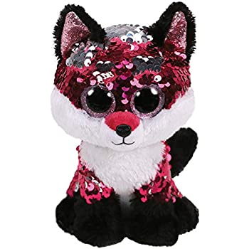 TY Pinky Flippable Sequin Beanie Boo Soft Toy 10cm