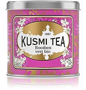 Kusmi Tea - Rooibos vert - Boîte métal 250g