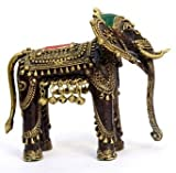 Bastar Elephant With Bell By Vyomshop