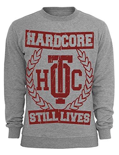 Oldtime Hardcore Clothing -  Felpa  - Uomo Erica grigio Medium