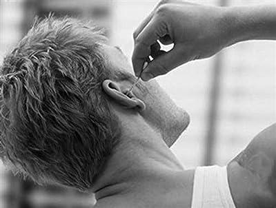 Aptoco 1 Piece Stainless Steel Ear Pick Metal Earpick Curette Wax Removal Remover