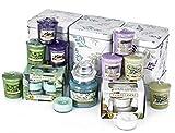 Official Yankee Candle aromaterapia vassoio 33pezzi Set regalo, candele votive, candeline, Small Jar + più