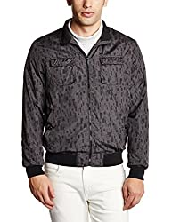 Arrow Newyork Mens Regular Fit Jacket (8907259328973_AJQY9414_X-Large_Black)