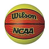 WILSON NCAA Hyper Shot Orange/Lime Basketball, Offizielle Größe