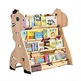 Cdbl Wand Bücherregal Kinder Bücherregal Cartoon Holzboden Kindergarten Schüler Einfache Mädchen Budget Bilderbuch Regal Regal (Farbe : A, Größe : 60 * 40 * 75cm)