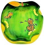 51ZLtmQFVjL SL160 in Toilettendeckel mit Wurm im Apfel