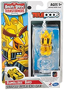 angry birds transformers bumblebee bird figure. Black Bedroom Furniture Sets. Home Design Ideas