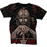 T-Shirt Hardcore Training Viking Black Edition-s MMA BJJ Fitness Grappling Camiseta