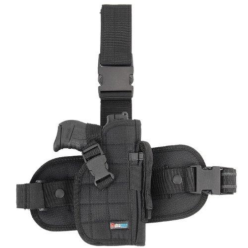 Lampe Eine Für Kostüm Bein - Fidragon Tactical Kombi-Beinholster Universal, schwarz