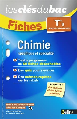Chimie TLE OB+SPE