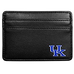 NCAA Kentucky Wildcats Leather Weekend Wallet, Black