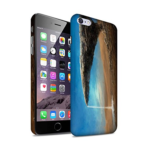Offiziell Chris Cold Hülle / Matte Snap-On Case für Apple iPhone 6S+/Plus / Exoplanet Muster / Galaktische Welt Kollektion Exoplanet