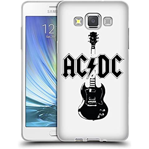 Ufficiale AC/DC ACDC Chitarra Principale Iconico Cover Morbida In Gel Per Samsung Galaxy A5
