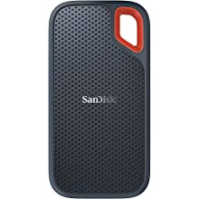 SanDisk Extreme Portable SSD 1 TB Up to 550 MB/s Read