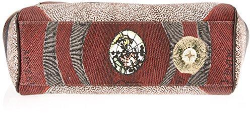 gattinoni Damen Gpcb004 Schultertasche, 13 x 35 x 30 cm Grau (Tibetan)