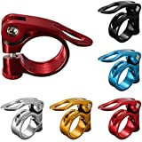 31.8mm SeatPost Bike Bicycle Bolt Binder Clamp Quick Release QR Alloy Cycling By FamilyMall