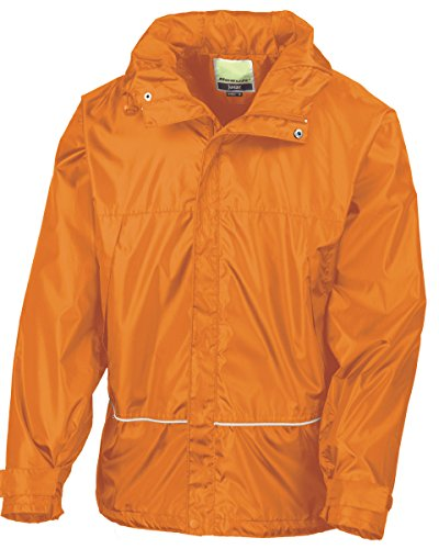 Result Junior & Jeunes Imperméable 2000 Pro-entraîneur Veste[R155JY] Orange
