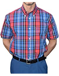 Warrior Blue & Red Check Shirt Sizes Large-4XL Available