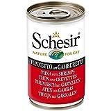 Schesir Cat Thunfisch mit Garnelen, 6er Pack (6 x 140 g)